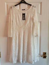 BNWT Se'Miu Women's White Dress Size M