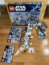 Lego Star Wars 7879 Hoth Echo Base And 75138 Hoth Attack Lot Read Adult Owned