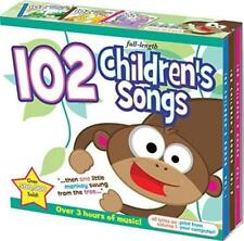 NEW 102 Children's Songs Kids Music Toddlers Preschool Fun [Audio CD, 3-discs]