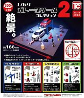 164 Garage Tool Collection 2 All 4 sets Full Comp Gacha Gacha Capsule Toy