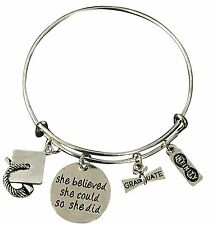 Graduation Bangle Bracelet-Graduation Gift, Perfect Gift for Graduates, 2017 Edi
