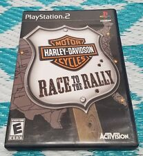 Playstation 2 PS2 Harley Davidson Race To The Rally Game Disc