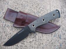 Swamp Rat Knife Works Rodent 4 R4 Knife Custom Molded Leather Sheath BROWN
