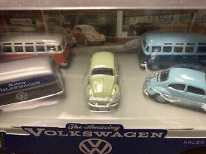 Motor World, The Amazing Volkswagen, 5 car set, Greenlight,