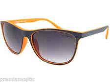 BLOC Unisex Coast Occhiali da sole SCURO BLU OLTRE Arancione/Grigio GRADIENTI