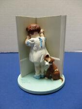 Bessie Pease Gutmann In Disgrace Figurine Danbury Mint 1992