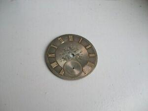 Antique Pocket Watch Dial - Gold Numerals.