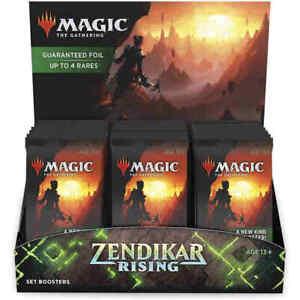 MTG Zendikar Rising BUNDLE, BOTH COMMANDER DECKS, THEME SET, & SET Booster Box