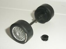 Scalextric - W8651 Opel Astra Silver Rear Axle & Pinion - NEW