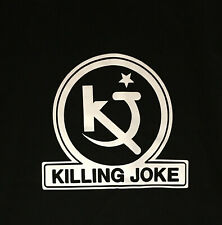 Killing Joke - Hosannas Logo - Black NEW T Shirt, post punk :  Free P+P UK