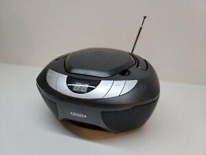 Jensen Black CD Player AM/FM Radio Boombox JEN CD-475 Portable
