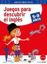 JUEGOS PARA DESCUBRIR EL INGLÉS. NUEVO. Envío URGENTE (IMOSVER)