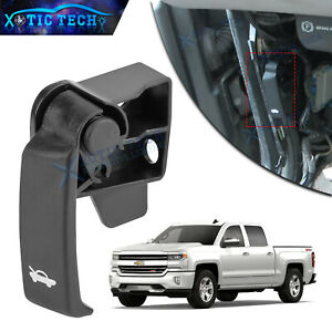 Hood Release Pull Handle For Chevy 99-06 GMC Truck 00-06 Tahoe Suburban Yukon