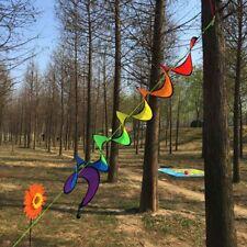 Colorful Pinwheel Rainbow Windmill Rainbow Wind Spinner Spinner Pinwheel