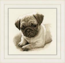 Pug Counted Cross Stitch Kit