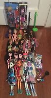Lot Of 20 Monster High Dolls All Different Frankie Stein Abbey Bonimable & More