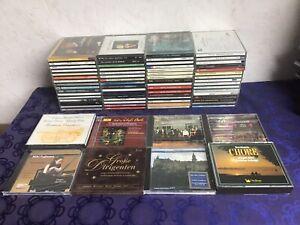 Klassische Music Cds Klassik Classic Cd Sammlung Lot ua MOZART BAROCKMUSIK CHÖRE