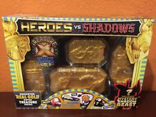 TREASURE X KINGS GOLD HEROES VS SHADOWS REAL DIPPED INSIDE! NEW SEALED FREE SHIP