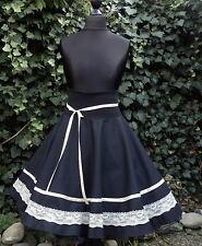 Tellerrock Tanz Square Dance Rock Skirt 50er Petticoat Rockabilly nach Maß