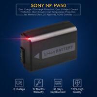 NP-FW50 NPFW50 Li-ion Battery for Sony NEX-5 NEX-C3 SLT-A55 SLT-A33 UK LOCAL