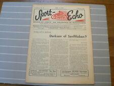 SPORT ECHO 1946-40 DERKSEN OF SENFFTLEBEN,RUITER,GENT,KINT,TUBBERGEN WEGRACE