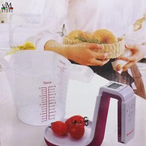 Bilancia Digitale Con Caraffa Graduata Da Cucina