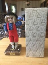 The Heirloom Treasure Porcelain Doll Collectors Doll W/ Box HANSEL EX Condition