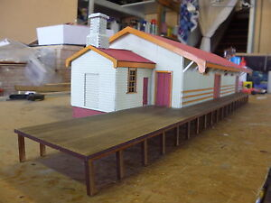 O scale building Tenterfield Goods Shed NSWGR KIT