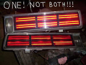 One 86 to 90 Chevy Caprice tailight left or right 1986 1987 1988 1989 1990 87 88