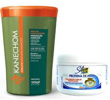 Kanechom Avocado Hair Mask + Avanti Silicon Mix Pearl Proteina de Perla