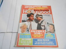 OCT 1973 HOLLYWOOD vintage movie magazine RYAN * TATUM O'NEAL - CLINT EASTWOOD