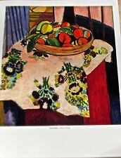 Henri Matisse Basket of Oranges  14X11 Unsigned Offset Lithograph