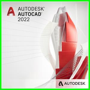 Autodesk AutoCAD 2022 for Windows/Mac Multilingual FullVersion AUTHORIZED DEALER