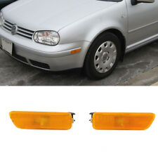 Front Bumper Reflector Side Yellow Lights For VW MK4 Golf Jetta 99-05 #1J094507