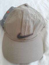 Nike Vintage Unisex Creme and Grey Cap-Dead Stock-