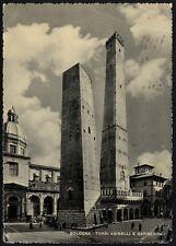 AD4713 Bologna - Torri Asinelli e Garisenda - Cartolina postale - Postcard