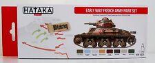 HATAKA htk-as21 precoce ww2 Esercito Francese 8 Set vernice a colori