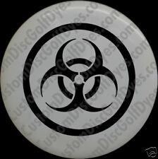 Disc Golf Custom Dye Stencil - BioHazard (2 Pack)
