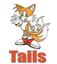Tails - Sonic -  #1 T-shirt Iron on transfer 5x7