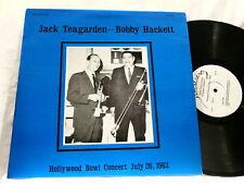 JACK TEAGARDEN & BOBBY HACKETT Hollywood Bowl 1963 LP