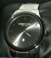 Kenneth Cole New York KC50887001 Men's Black Dial Stainless Steel Watch