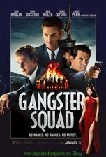 GANGSTER SQUAD MOVIE POSTER DS 27x40 ORIGINAL SEAN PENN EMMA STONE 2012