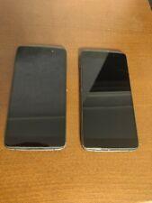 Blackberry Dtek50 Unlocked Lot of 2 Cracked Screens function well