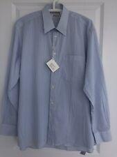 MONDO di MARCO Long Sleeve Stripe Dress Shirt Size TG. 41-16/34-35 Made in Italy