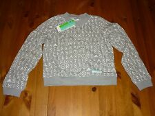 STELLA McCARTNEY STELLASPORT SWEATER AOP SIZE MEDIUM UK 12-14 BNWT