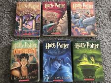 Harry Potter Series 1-6set Rowling paperback 1 2 3 4 5 6 lot