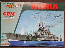Kartonmodellbau Panzerschiff Roma GPM 170 / 1:250