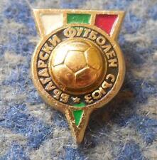 BULGARIA FUSSBALL FOOTBALL SOCCER FEDERATION UNION ASSOCIATION 1980's PIN BADGE