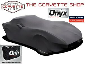Corvette Onyx Car Cover C3 1968-1982 Lycra Spandex Indoor Lightweight 52263