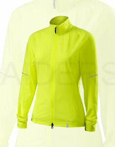 Specialized Women's Deflect Cycling Jacket Neon Yellow - Medium